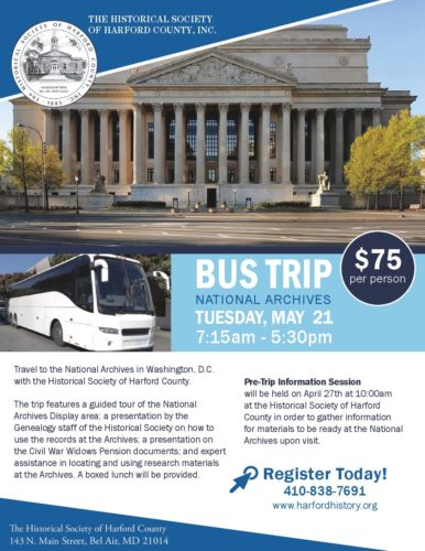 Bus Trip National Archives