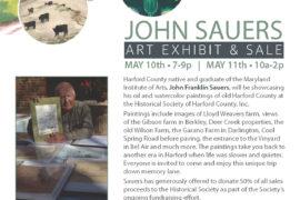 John Sauers Art Exhibit & Sale